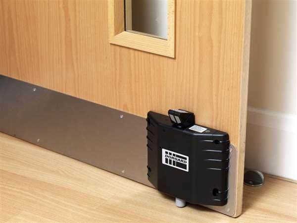 Fire Door Closers : Dorgard fire door holder black panic furniture