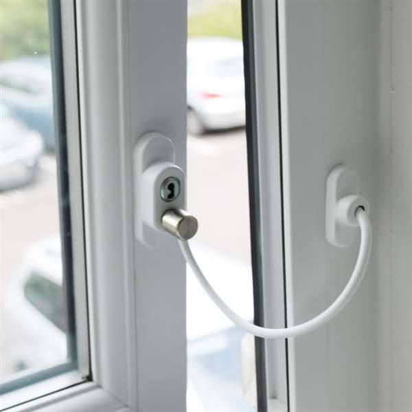 Penkid Window Cable Restrictor White Misc Hardware